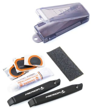 Ремкомплект Merida Repair Set Patches and Levers 105 мм Black