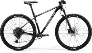 Распродажа! Велосипед 29″ Merida BIG.NINE Limited Metallic Black (Matt Dark Silver) 2020