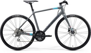 Велосипед 28″ Merida SPEEDER 100 Matt Dark Grey (Blue/Pink/Black) 2020