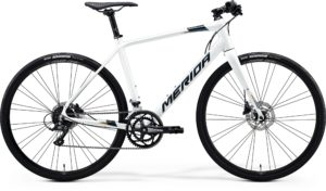 Велосипед 28″ Merida SPEEDER 200 White (Dark Silver/Gold) 2020