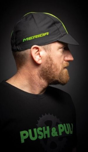 Кепка Cycling cap Onesize/Black, Green
