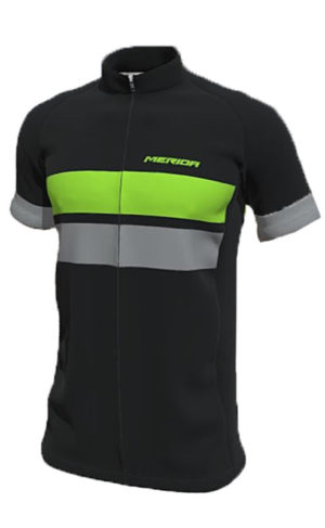 Веломайка Merida E-Trail Short Sleeve Jersey Green/Grey