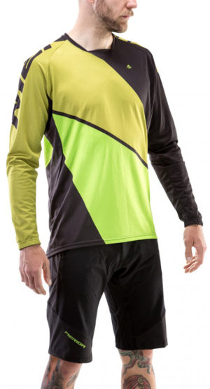 Веломайка Merida Enduro LS Long Sleeve Jersey Green/Green