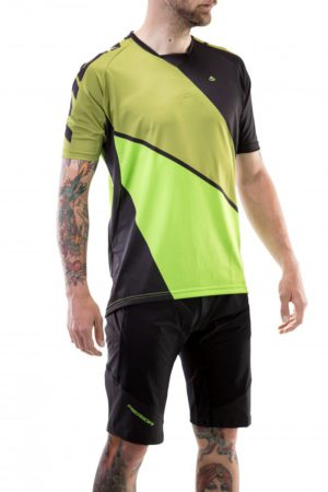 Веломайка Merida Enduro SS Short Sleeve Jersey Green/Green
