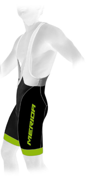 Велошорты Merida Bib Short Premium Man CX Green