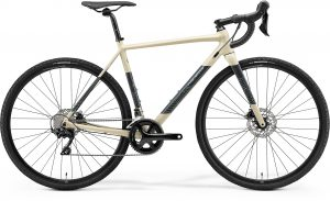 Велосипед 28″ Merida Mission CX 400 Silk Sand (Grey/Turquoise) 2021