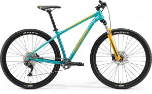 Велосипед 29″ Merida Big.nine 200 Teal-Blue (Orange) 2021
