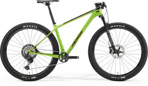 Велосипед 29″ Merida Big Nine 7000 Black/Green 2021