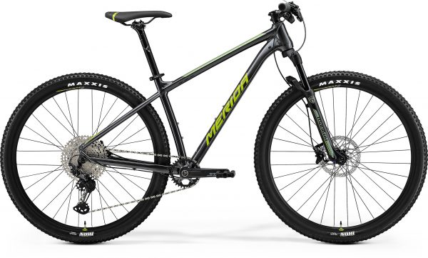 Велосипед 29″ Merida Big Nine SLX Edition Anthracite (Green/Silver) 2021