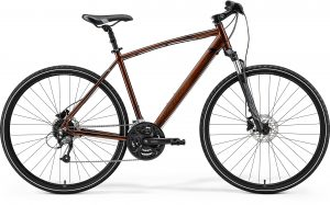 Велосипед 28″ Merida Crossway 40 Bronze (Brown/Black) 2021