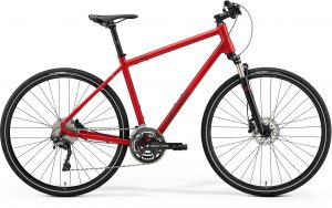Велосипед 28″ Merida Crossway 500 Matte Burgundy Red (Dark Red) 2021