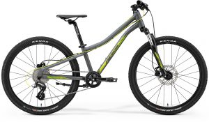 Велосипед 24″ Merida Matts J.24 Matt Cool Grey (Green/Yellow) 2021