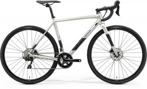 Велосипед 28″ Merida Mission CX 400 Silk Titan (Black/Silver) 2021