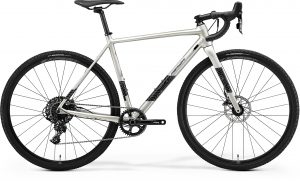 Велосипед 28″ Merida Mission CX 600 Silk Titan (Black/Silver) 2021