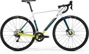 Велосипед 28″ Merida Mission CX 7000 Pearl White/Teal Blue/Lime 2021