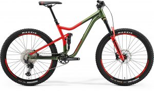 Велосипед 27.5″ Merida One-Forty 700 Green/Red 2021