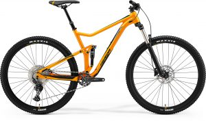 Велосипед 29″ Merida One-Twenty 400 Orange (Black) 2021